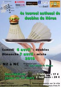 2019 - Tournoi Néron - Affiche